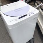 SHARP(シャープ) 5.5キロ 全自動洗濯機 ES-GE5A-V 2017
