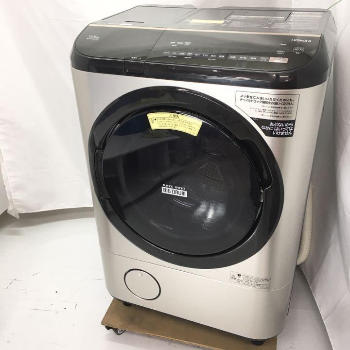 日立 ドラム式洗濯機 BD-NX120EE7L