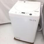 シャープ 全自動洗濯機 ES-GE5E