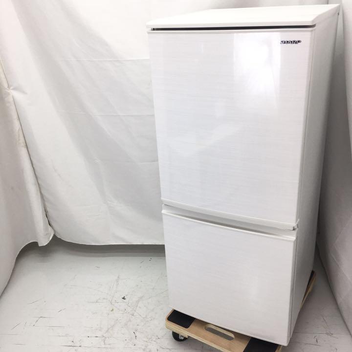 シャープ 冷凍冷蔵庫 SJ-D14E-W