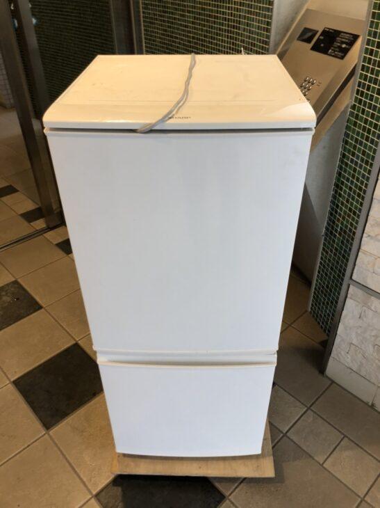 冷蔵庫の引き取り作業を出張費無料で行いました。