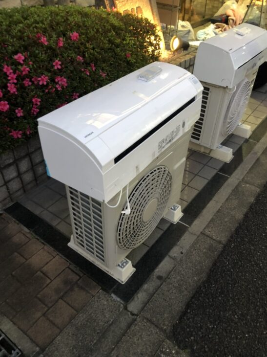 エアコンを二台査定いたしました
