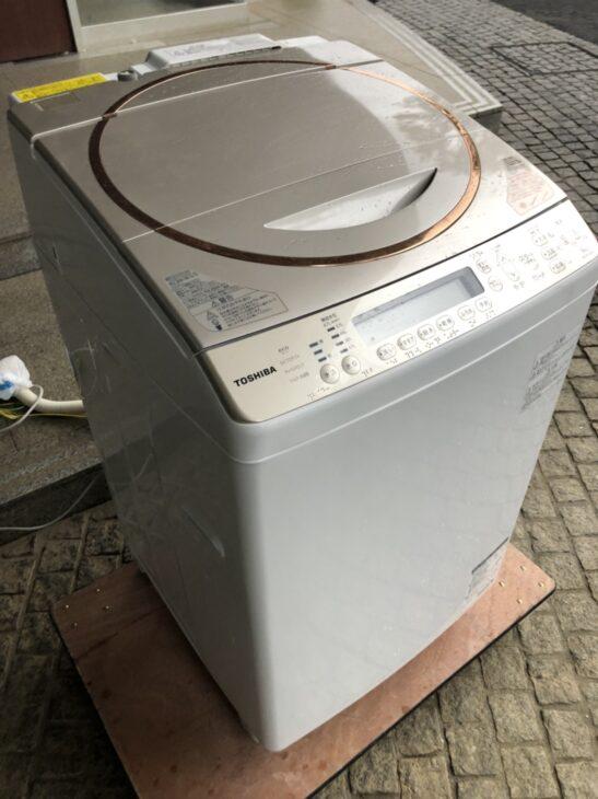 東芝 9.0キロ AW-9SV3M 全自動洗濯機をお引き取りしました。