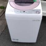 SHARP(シャープ) 7.0キロ 全自動洗濯機 ES-GV7C 2019年製