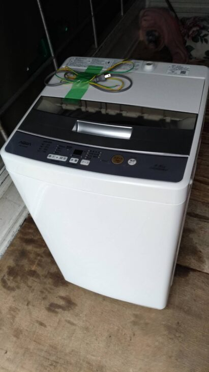 【練馬区】AQUAの洗濯機 AQW-S45Gを出張査定しました