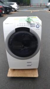 SHARP(シャープ)7.0キロ ドラム式洗濯機  ES-S7A-WL 2017年製