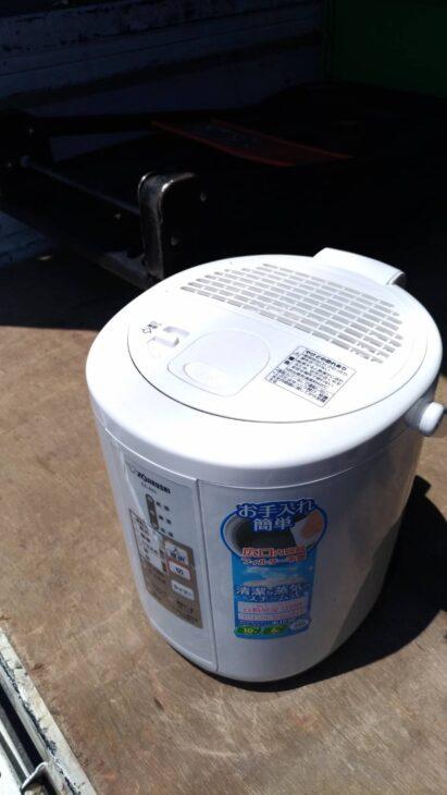 練馬区にてスチーム加湿器をお売り頂き、出張しました。