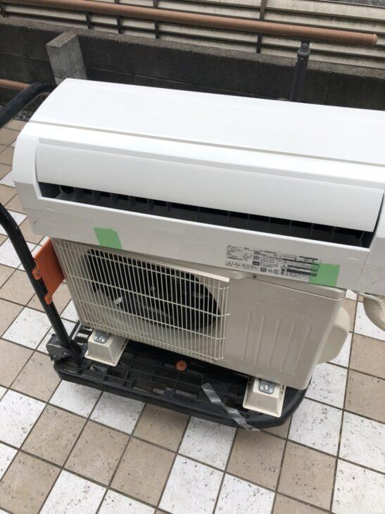 日野市でエアコンの出張査定をしました。