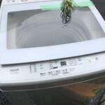 AQUA(アクア)8.0キロ 簡易乾燥機能付洗濯機 AQW-GV80G(W) 2019年製