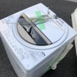 TOSHIBA(東芝) 6.0kg 全自動洗濯機 AW-6G8-W 2020年製