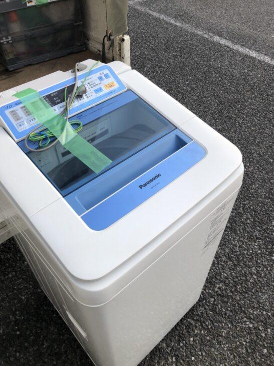 全自動洗濯機 NA-FA70H2 出張査定をしました