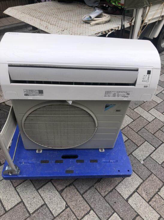 渋谷区にてエアコンの査定を致しました。