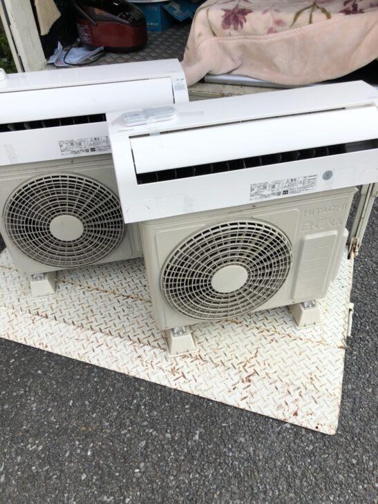 【東京都江戸川区】日立のエアコン2台をお売り頂きました。