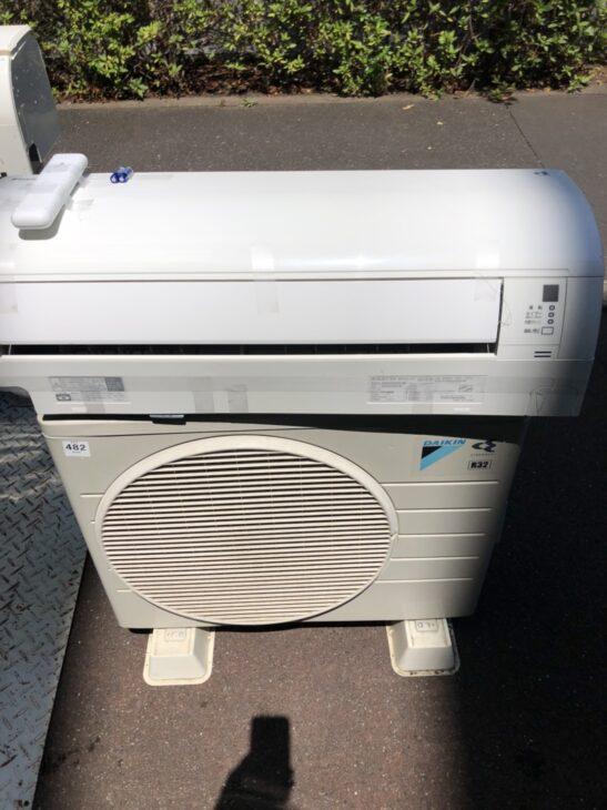 【埼玉県志木市】エアコン2台をお売り頂き、出張しました。