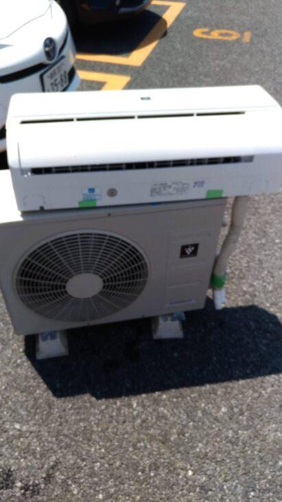 川口市のお客様よりエアコンをお売り頂きました。