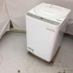 SHARP(シャープ)6.0キロ 全自動洗濯機  ES-GE6C-W