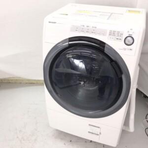 シャープ ドラム式洗濯乾燥機 ES-S7C-WL