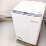 シャープ 全自動洗濯機  ES-T710-W