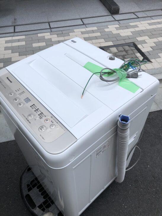 Panasonicの全自動洗濯機をお売り頂き、品川区へお邪魔しました!