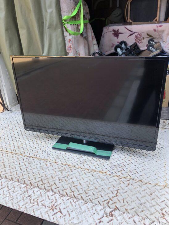 東京都葛飾区のお客様よりご用命頂き、テレビを無料引き取りしました