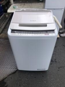 HITACHI(日立)8.0キロ 全自動電気洗濯機 BW-V80E 2019年製