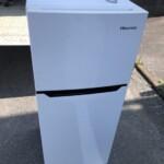 Hisense(ハイセンス) 120L 2ドア冷蔵庫 HR-B1201 2020年製