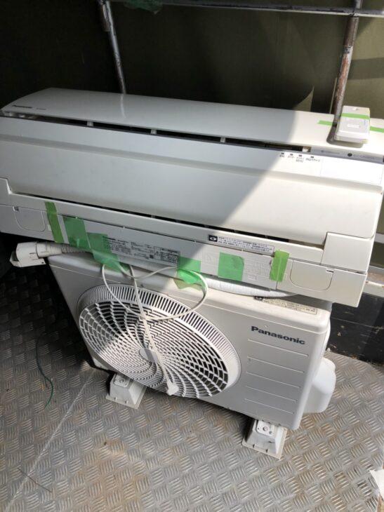 【埼玉県新座市】パナソニックのエアコンを無料でお引取りしました。