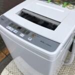 AQUA(アクア)6.0㎏ 全自動洗濯機 AQW-S60H 2020年製