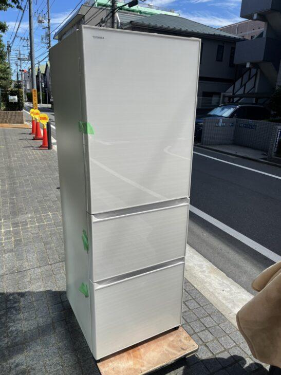 ~東京都武蔵野市~ 東芝の冷蔵庫の出張査定依頼でお伺いしました