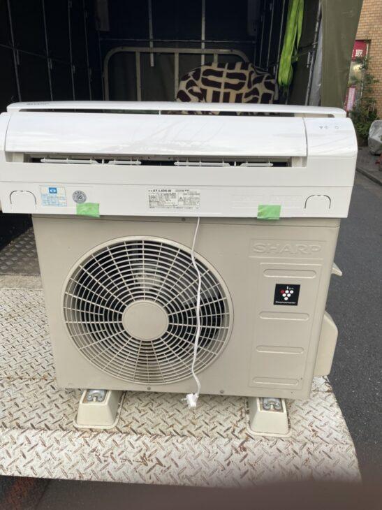 世田谷区のお客様よりSHARPのエアコンをお売り頂きました