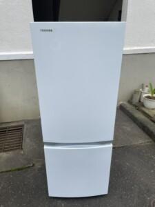 TOSHIBA(東芝)153L 2ドア冷蔵庫 GR-R15BS 2020年製