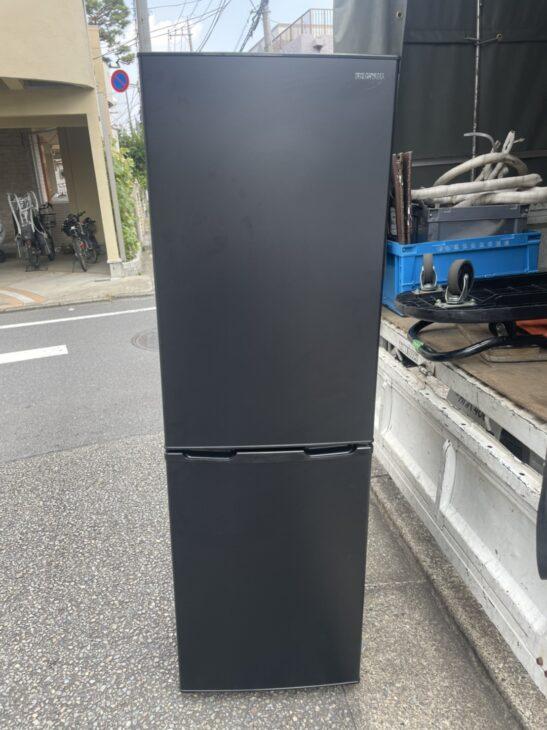 【世田谷区】アイリスオーヤマ 2ドア冷蔵庫 IRSE-16A-Bをお売り頂きました