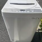 SHARP(シャープ) 6.0kg全自動洗濯機 ES-GE6D-T 2020年製