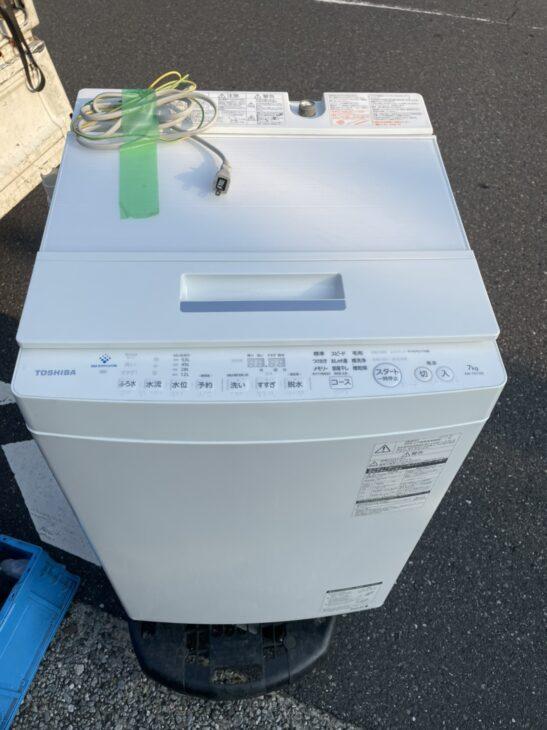 東芝の洗濯機AW-7D7の査定依頼を頂き、江東区へ行ってまいりました