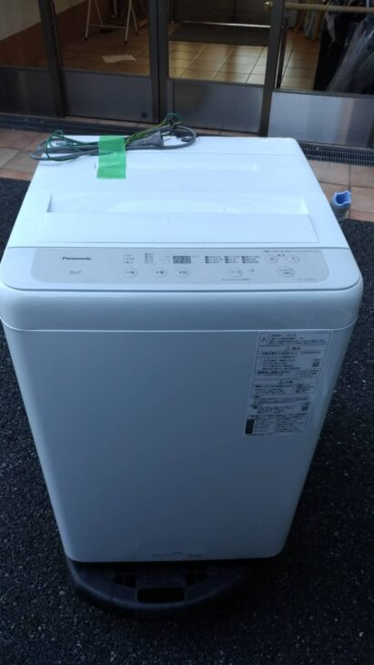 Panasonic全自動洗濯機NA-F50B14 2021年製を練馬区にて査定しました