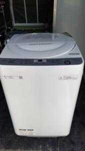 SHARP(シャープ)6.0㎏ 全自動洗濯機 ES-GE6B-W 2018年製