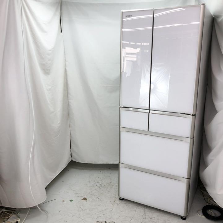 HITACHI(日立)505L 6ドア冷蔵庫 R-XG51J