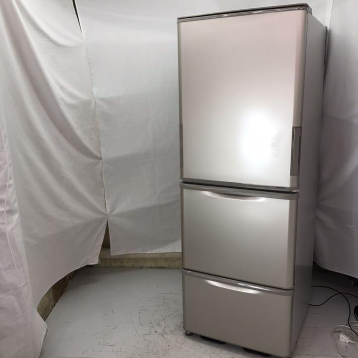 シャープ 冷凍冷蔵庫 SJ-W352D-N