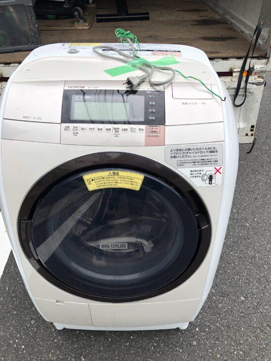 【埼玉県川口市】ドラム式洗濯乾燥機 BD-V9800L 2016年製を査定いたしました