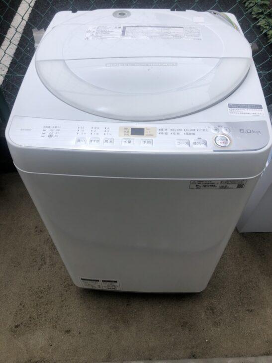 SHARP製の冷蔵庫と洗濯機の査定依頼で、葛飾区へ出張しました。
