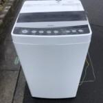 Haier(ハイアール)4.5㎏ 全自動洗濯機 JW-C45D-K 2020年製