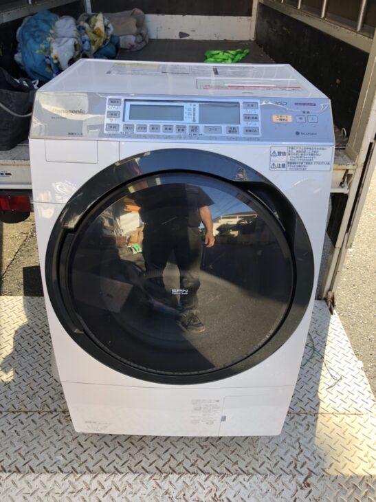 Panasonicのドラム洗濯機の査定依頼を頂き、出張しました。