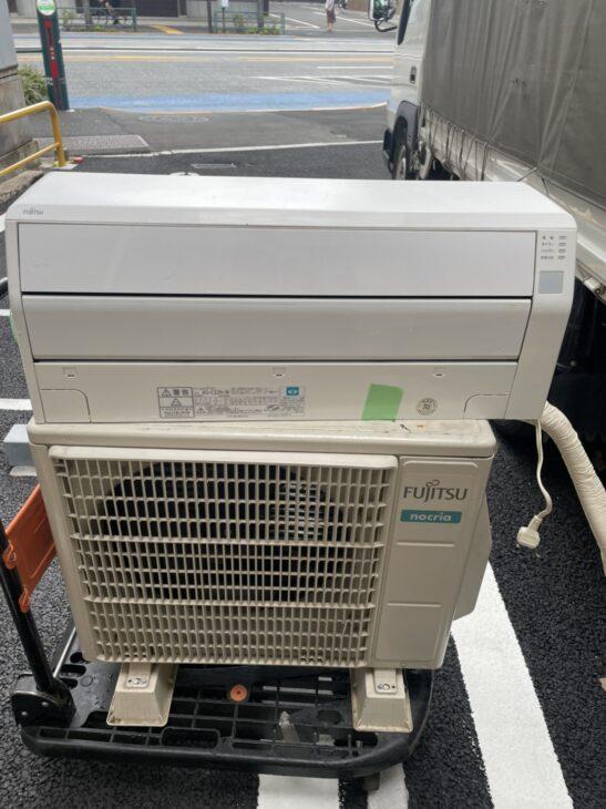 台東区浅草にて富士通エアコンAS-C22H-Wを査定いたしました