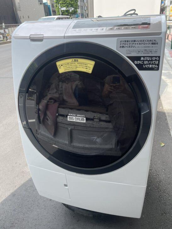 【中央区】日立製の冷蔵庫と洗濯機の出張査定でした