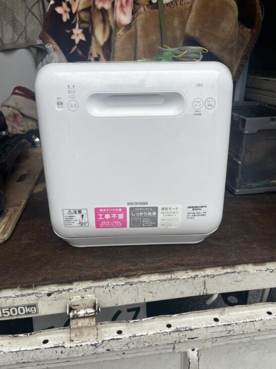 葛飾区にてアイリスオーヤマの食器洗い乾燥機を出張査定しました