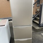 SHARP(シャープ) 350L 3ドア冷蔵庫 SJ-W352D-N 2018年製