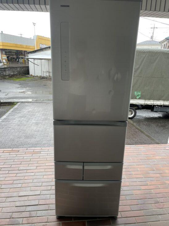 あきる野市にて東芝5ドア冷蔵庫GR-M41G 2018年製を査定いたしました