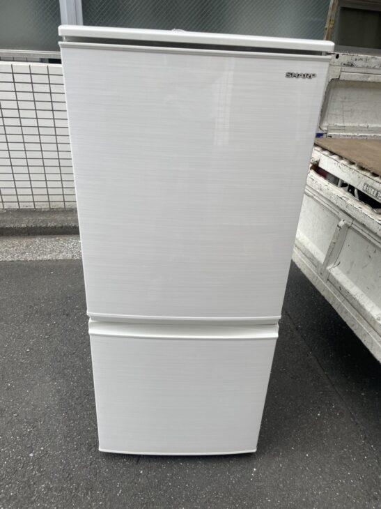 武蔵野市にて単身向け冷蔵庫SJ-D14F-Wを査定いたしました!