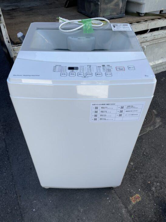 ニトリの全自動洗濯機NTR60 2020年製を練馬区にて査定しました