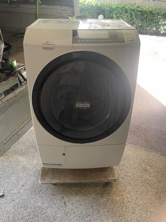 【港区】日立 ドラム式洗濯乾燥機 BD-S8700L 2015年製をお売り頂きました